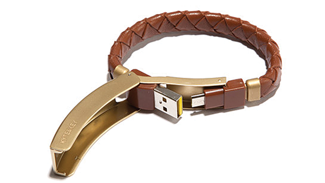 Information about charging bracelet cable