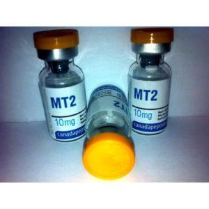 intake of melanotan