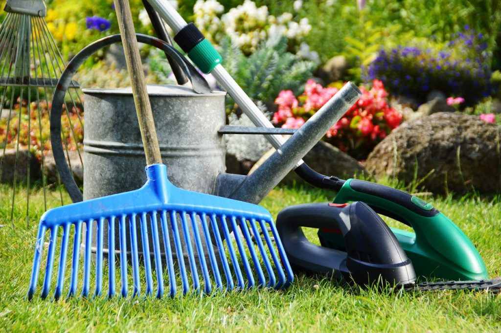 What are some of the essential gardening tools to keep?